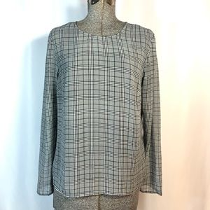 A New Day Plaid Blouse